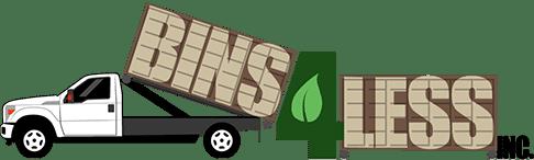 Bins 4 Less Logo